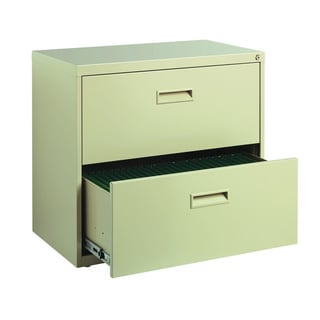 Putty 2 Drawer 30-inch Wide Lateral File