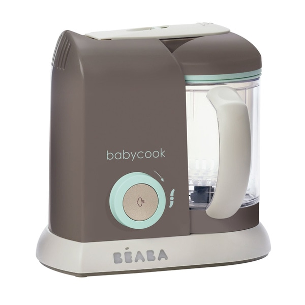 Beaba Babycook Pro Baby Food Steamer/ Processor in Latte Mint