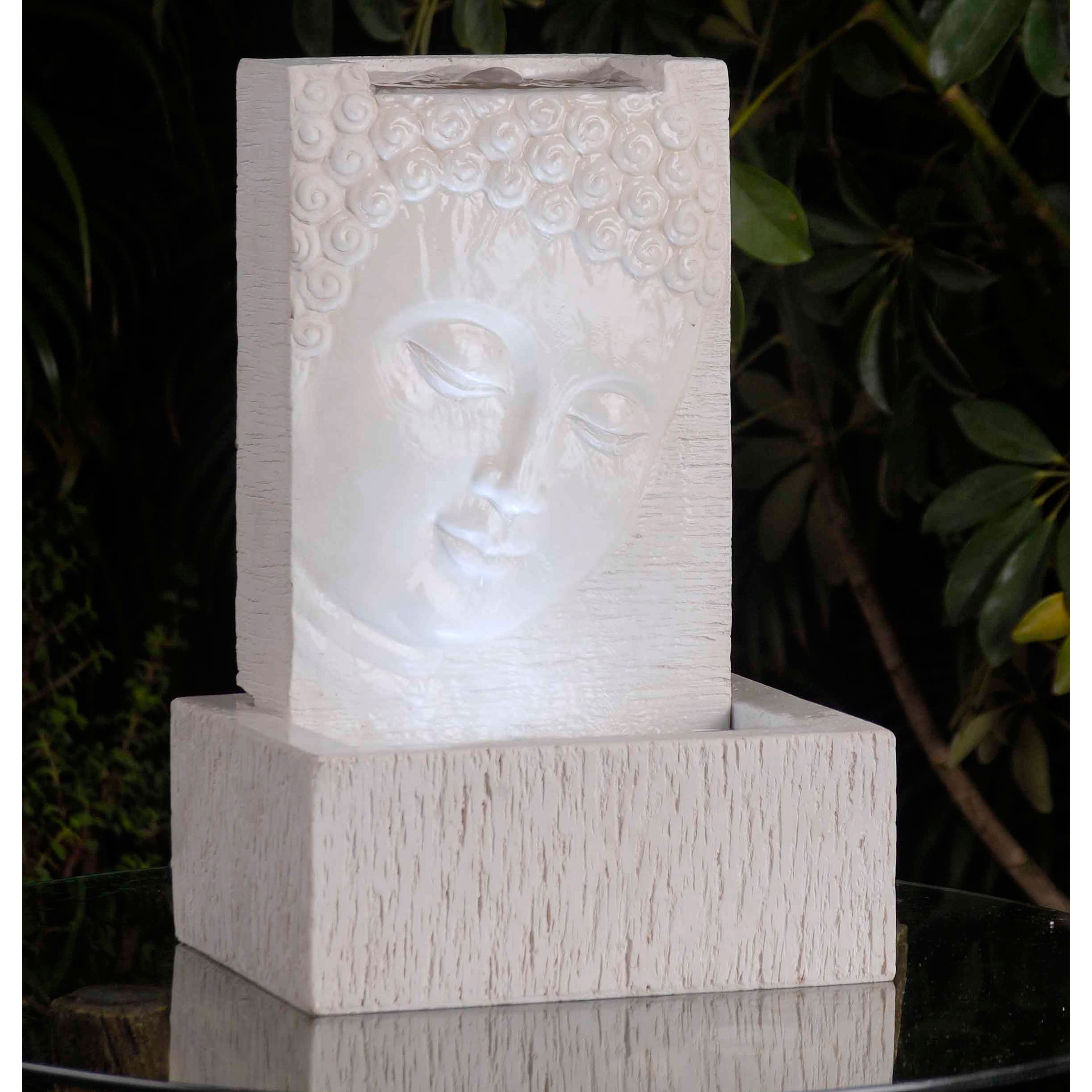 Tabletop LED Lit Buddha Fountain at Sears.com
