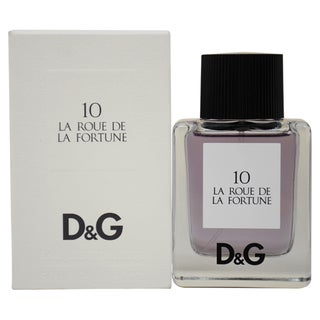 D&G Anthology '10 La Roue de la Fortune' Women's 1.6-ounce Eau de Toilette Spray