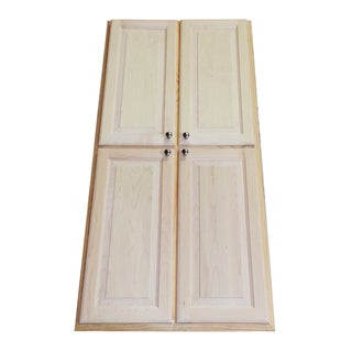 Recessed 60-inch Dual Mount Pantry Storage Cabinet