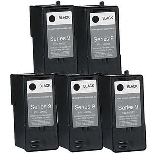Dell MK992 (Series 9) High-Capacity Black Ink Cartridge (Pack of 5)