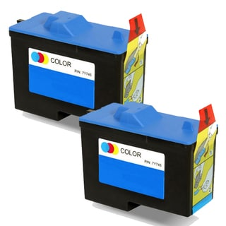 Dell X0504 / 7Y745 (Series 2) Color Compatible Inkjet Cartridge (Pack of 2)