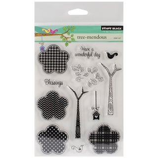 Penny Black Clear Stamps 5 x 6.5 Sheet-Tree-Mendous