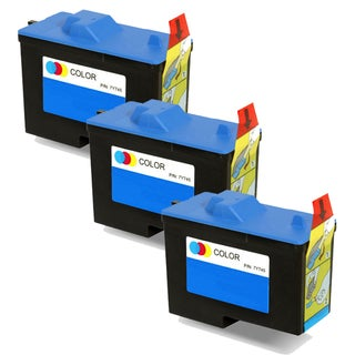 Dell X0504 / 7Y745 (Series 2) Color Compatible Inkjet Cartridge (Pack of 3)