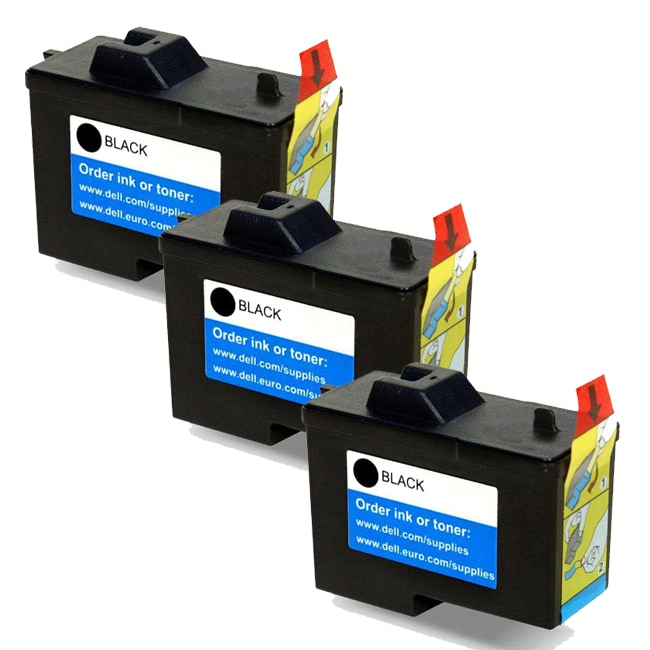 Dell X0502 / 7Y743 (Series 2) Black Compatible Inkjet Cartridge (Pack of 3)