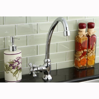 Polished Chrome Single-Handle Bar Faucet