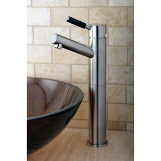 Satin Nickel Vessel Sink Bathroom Faucet