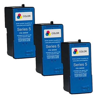 Dell M4646 (Series 5) Color High Yield Compatible Inkjet Cartridge (Pack of 3)