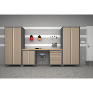 Pro Series Taupe 5-Piece Cabinetry Set