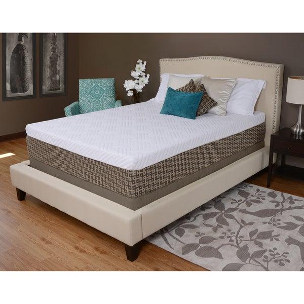 Sullivan 12-inch Comfort Deluxe Full-size Memory Foam Mattress by angelo:HOME