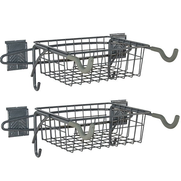 GlideRite Slatwall Bike Racks (Set of 2)