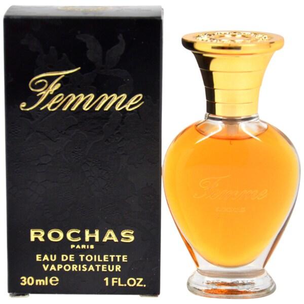 Rochas 'Femme Rochas' Women's 1-ounce Eau de Toilette Spray