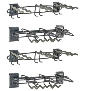 GlideRite Slatwall Hand Tool and Long Tool Accessory Racks (Set of 4)