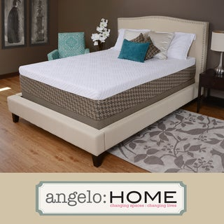 angelo:HOME Comfort Plush Medium Firm 12-inch Twin-size Memory Foam Mattress