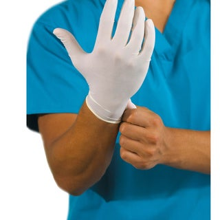 Latex Powder-Free Disposable Gloves (Pack of 100)