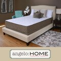 angelo:HOME Comfort Plush Medium Firm 10-inch Twin-size Memory Foam Mattress