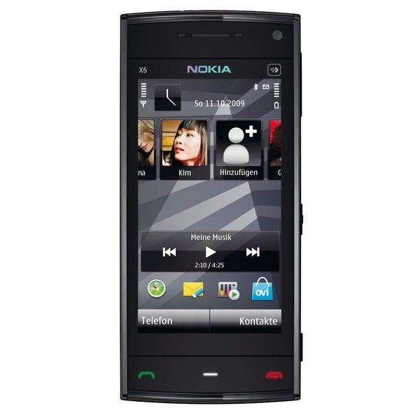 Nokia X6 16GB GSM Unlocked Symbian OS Phone