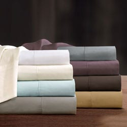 Sleep Philosophy 300 Thread Count Liquid Pima Cotton Pillowcase (Set of 2)