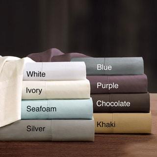 Sleep Philosophy 300 Thread Count Liquid Pima Cotton Pillowcase (Set of 2)