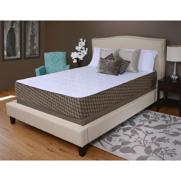 Sullivan 10-inch Comfort Queen-size Memory Foam Mattress by angelo:HOME