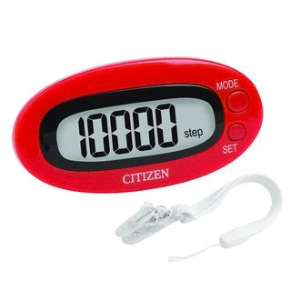 Citizen Red Pedometer