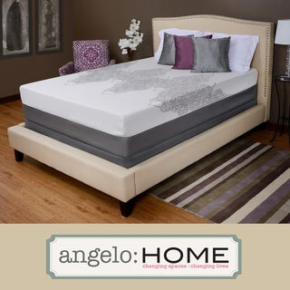 angelo:HOME Comfort Plush Medium Firm 13-inch King-size Memory Foam Mattress