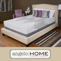 angelo:HOME Comfort Gel Medium Firm 9-inch Twin-size Gel Memory Foam Mattress