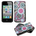 BasAcc Bubble/ Diamante Fusion Case for Apple iPhone 4S/ 4