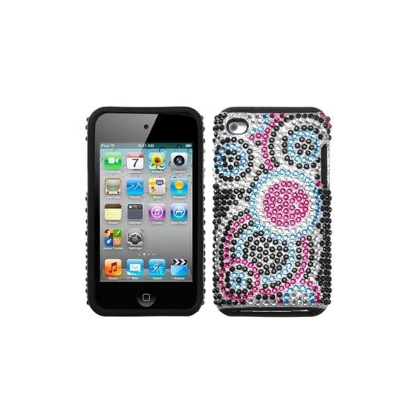 INSTEN Bubble/ Diamante Fusion iPod Case Cover for Apple iPod touch 4