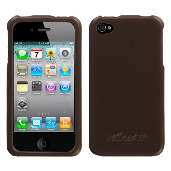 INSTEN Brown Executive Phone Case Cover for Apple iPhone 4S/ 4