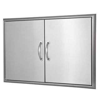 Blaze Stainless Steel 32-inch Double Access Door