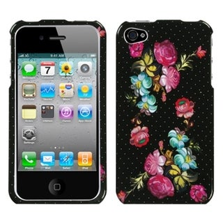 BasAcc Blooming Flowers Phone Case for Apple iPhone 4S/ 4