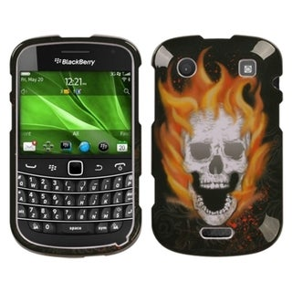 BasAcc Blaze/ Skull Phone Case for Blackberry Bold 9930/ 9900