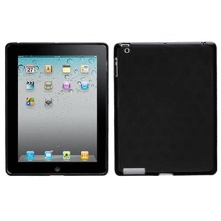 BasAcc Black/ Solid Black Hole Pattern Case for Apple iPad 1/ 4
