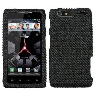 BasAcc Black/ Diamante Case for Motorola XT912M Droid Razr Maxx