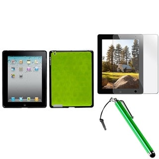 BasAcc Stylus/ LCD Protector/ Case for Apple iPad 2/ 3/ 4/ New/ Retina