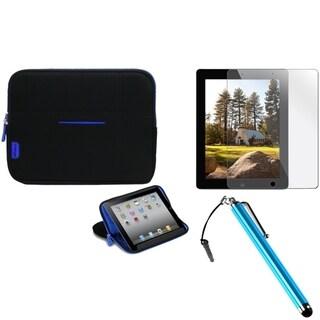 BasAcc Stylus/ Protector/ MySleeve for Apple iPad 2/ 3/ 4/ New/ Retina