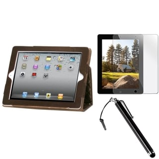 BasAcc Stylus/ Protector/ MyJacket for Apple iPad 2/ 3/ 4/ New/ Retina