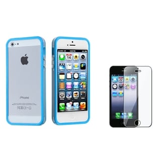 BasAcc MyBumper Case/ Screen Protector for Apple iPhone 5