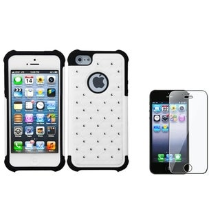 BasAcc TotalDefense Case/ LCD Protector for Apple iPhone 5