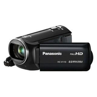 "Panasonic HC-V110 Digital Camcorder - 2.7"" LCD - BSI MOS - Full HD -"
