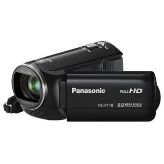 "Panasonic HC-V110 Digital Camcorder - 2.7"" LCD - BSI MOS - Full HD"