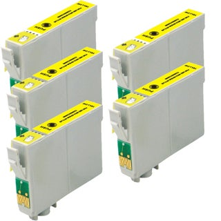 Epson T078420 (T0784) Yellow Remanufactured Ink Cartridge (Pack of 5)