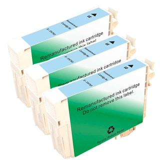 Epson T078520 (T0785) Light Cyan Remanufactured Ink Cartridge (Pack of 3)