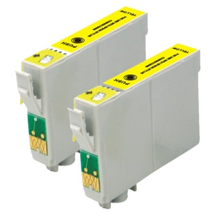 Epson T078420 (T0784) Yellow Remanufactured Ink Cartridge (Pack of 2)