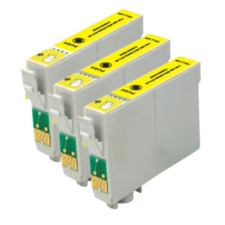 Epson T078420 (T0784) Yellow Remanufactured Ink Cartridge (Pack of 3)