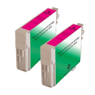 Epson T078320 (T0783) Magenta Remanufactured Ink Cartridge (Pack of 2)