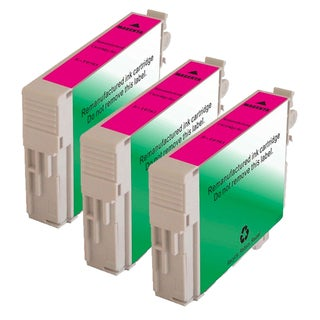 Epson T078320 (T0783) Magenta Remanufactured Ink Cartridge (Pack of 3)
