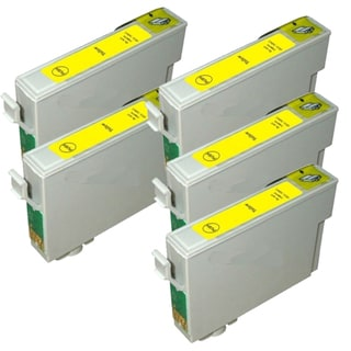 Epson T069420 (T0694) Yellow Remanufactured Ink Cartridge (Pack of 5)